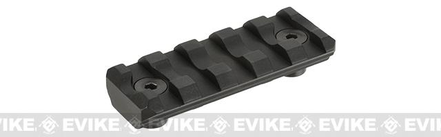 Krytac 5 Slot KeyMod Long Rail - Black