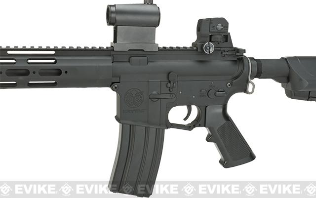 Krytac Full Metal Alpha CRB Airsoft AEG Rifle - Black