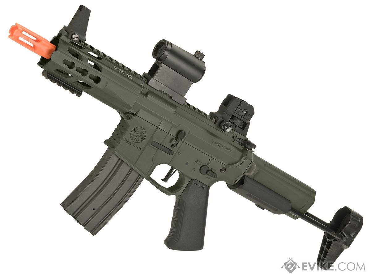 Krytac Full Metal Trident MK2 PDW Airsoft AEG Rifle (Color: Foliage Green)