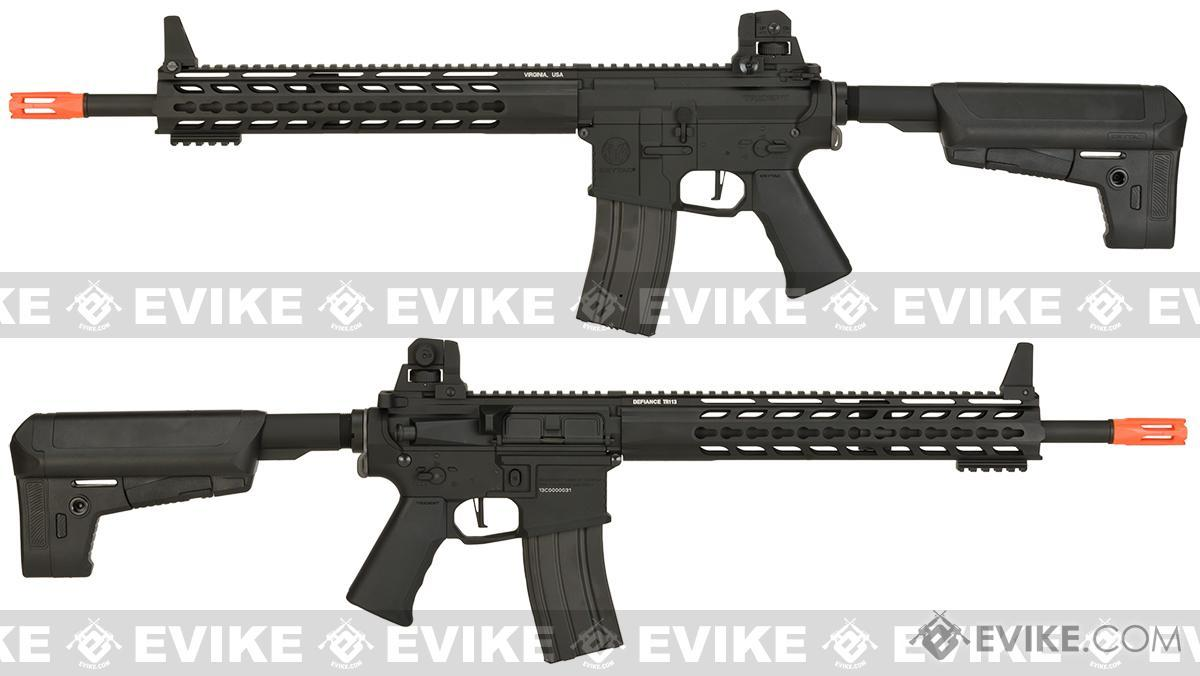 Krytac Full Metal Trident MK2 SPR Airsoft AEG Rifle - Black