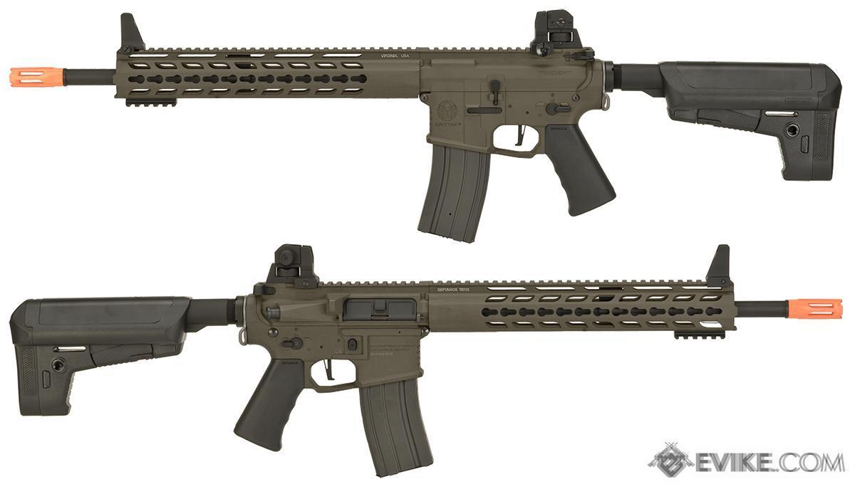 Krytac Full Metal Trident MK2 SPR Airsoft AEG Rifle - Flat Dark Earth