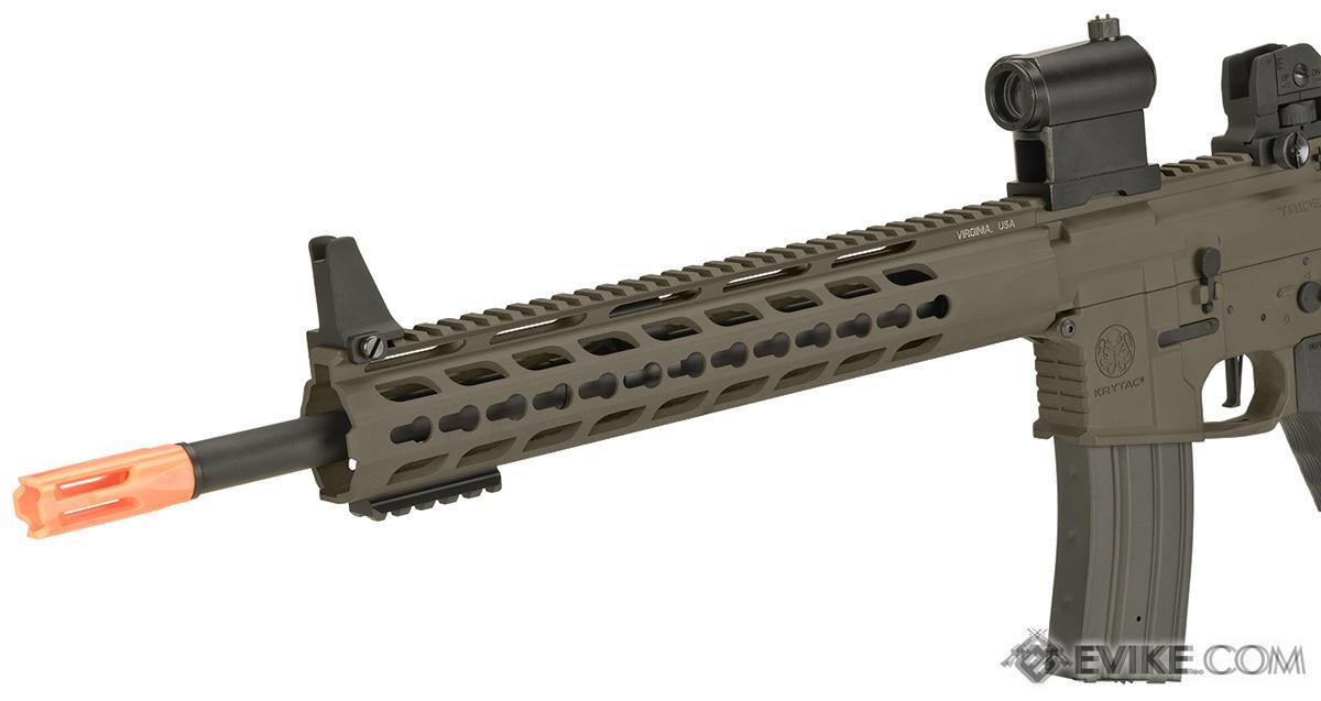 Pre-Order ETA February 2017 Krytac Full Metal Trident MK2 SPR Airsoft AEG Rifle - Flat Dark Earth