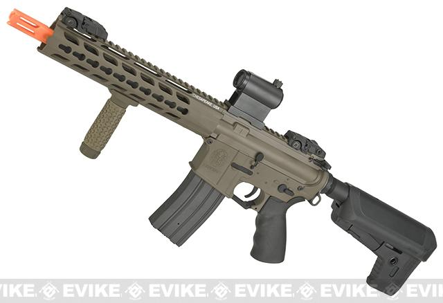 Krytac Full Metal Trident CRB Airsoft AEG Rifle - Cerakote Dark Earth