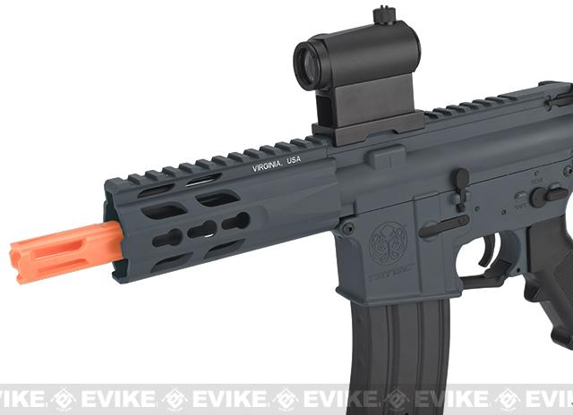 (10 MAGAZINE BUNDLE DEAL) Krytac Full Metal Trident PDW Airsoft AEG Rifle - Wolf Grey Special Edition