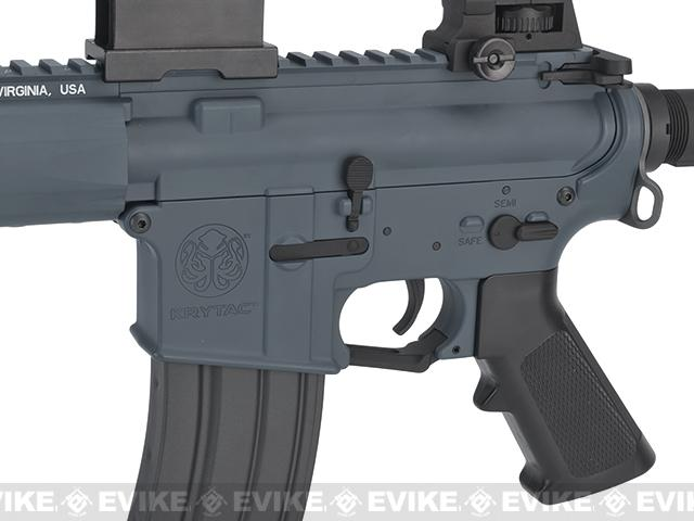 (10 MAGAZINE BUNDLE DEAL) Krytac Full Metal Trident SPR Airsoft AEG Rifle - Wolf Grey Special Edition