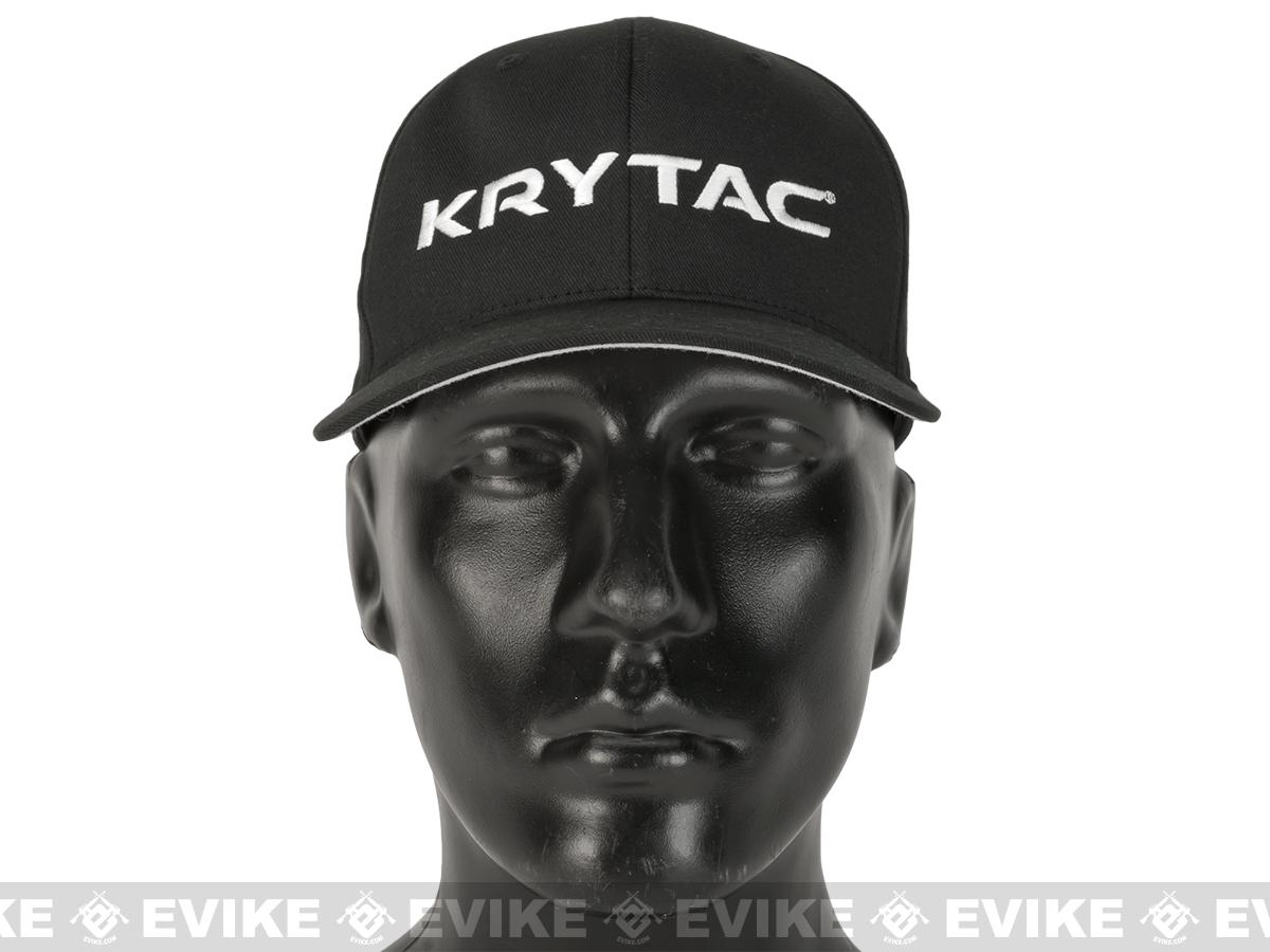 Krytac FelxFit Cap - Black (Size: Small/Medium)