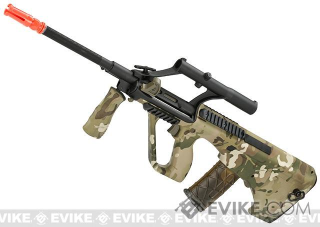 JG AUG Military Special Edition Airsoft AEG w/ Integrated Scope (Color: Scorpion Camo)