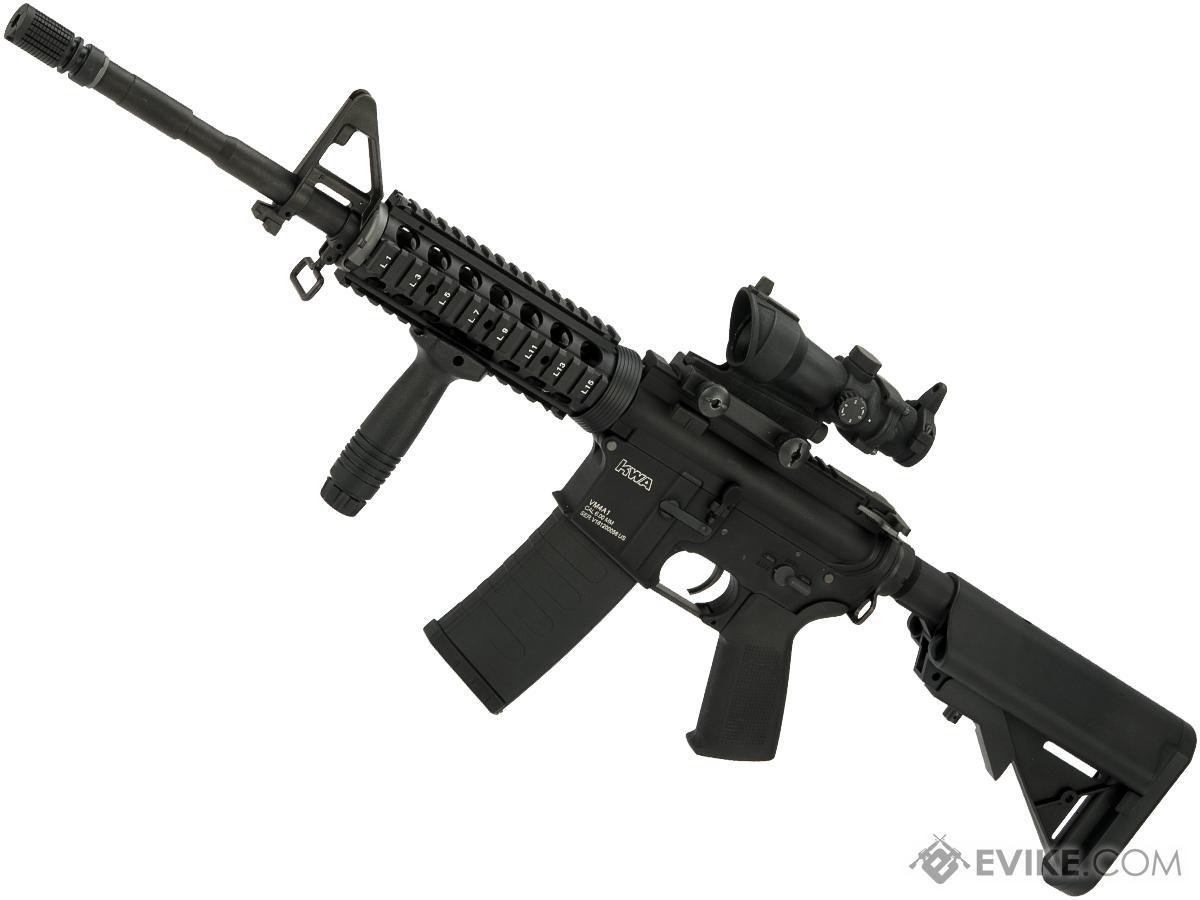 Evike Custom KWA RM4-A1 V2.5 / M4 RIS Carbine  Airsoft AEG Rifle