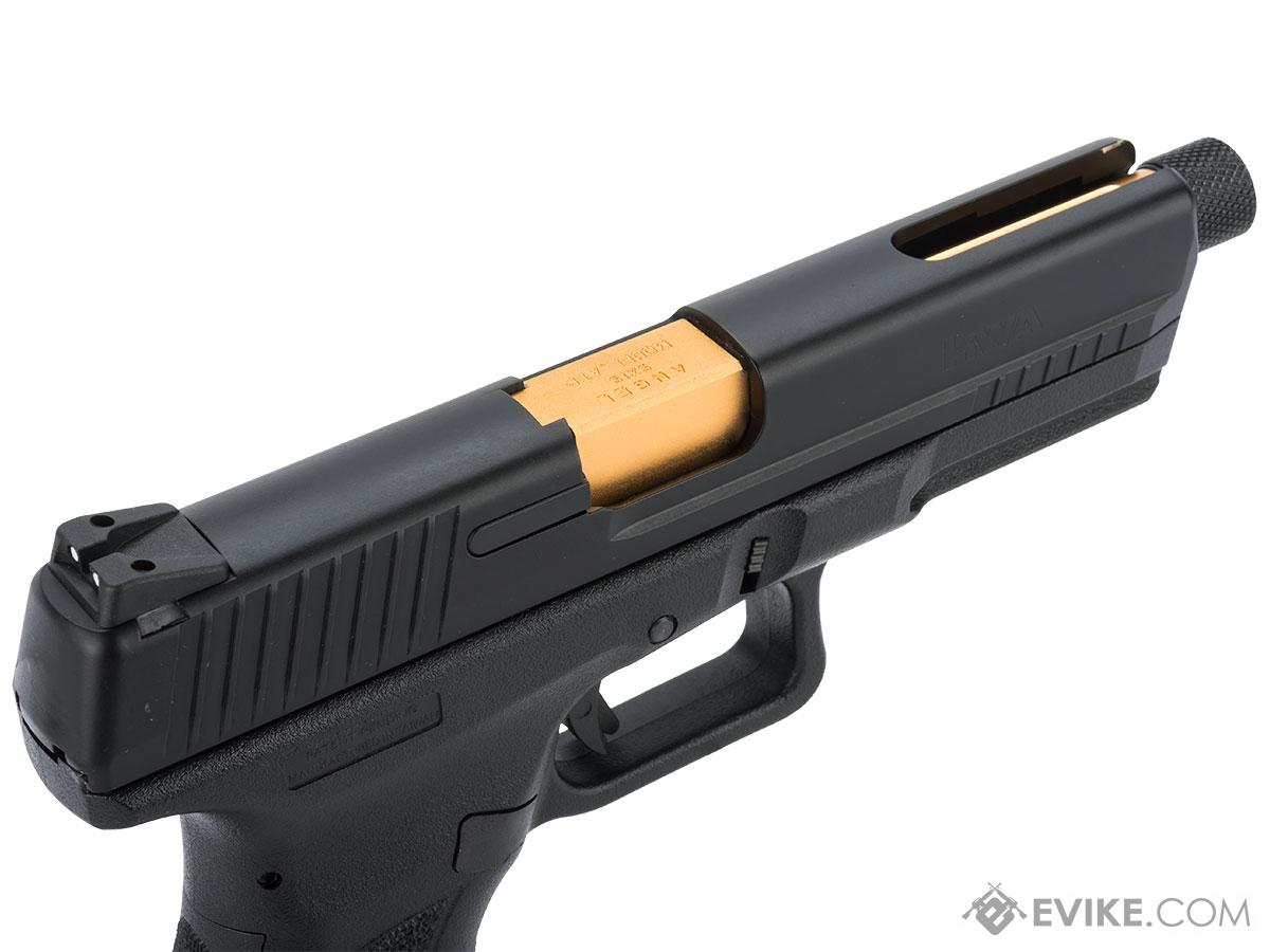 Evike.com Custom KWA ATP Full Auto Gas Blowback Airsoft Pistol with Angel Custom Upgrade Package