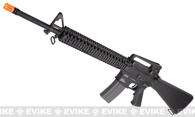 Evike Custom KWA KM16 Airsoft AEG Rifle - Daniel Defense RISII 12