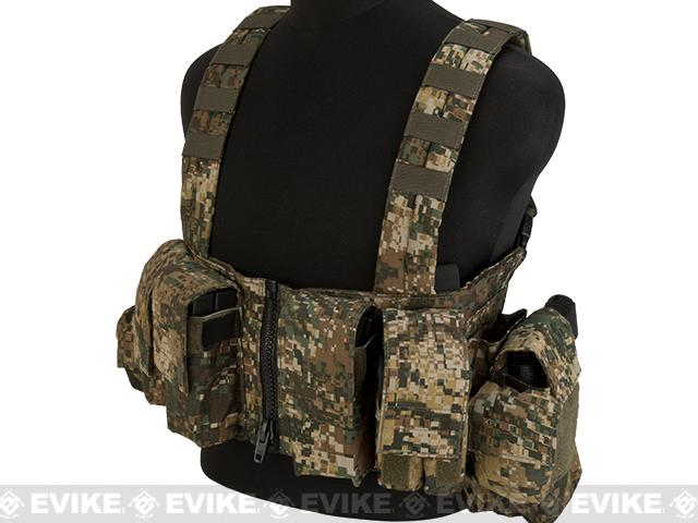 LBX Tactical Lock & Load Chest Rig - Caiman