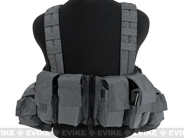 LBX Tactical Lock & Load Chest Rig - Wolf Grey