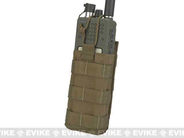LBX Tactical Radio Pouch - Coyote Brown