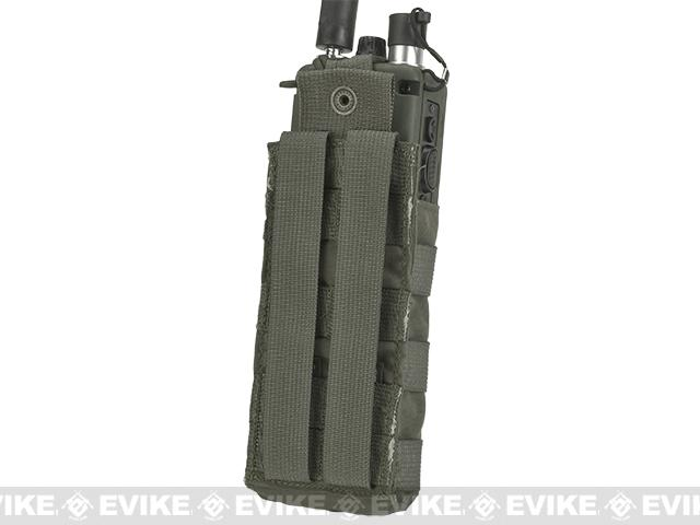 LBX Tactical Radio Pouch - Ranger Green