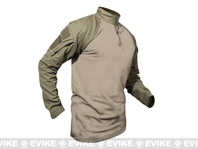 LBX Tactical Camouflage Combat Shirt - Tan (Size: Small)