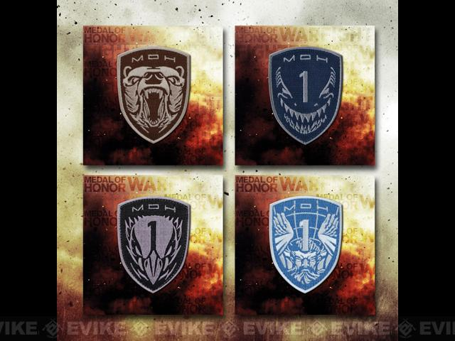 z LBX Tactical 2013 MoH Warfighter Patch Set