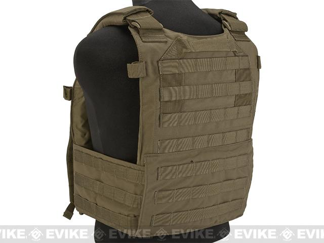 LBX Tactical Modular Plate Carrier - Coyote Brown