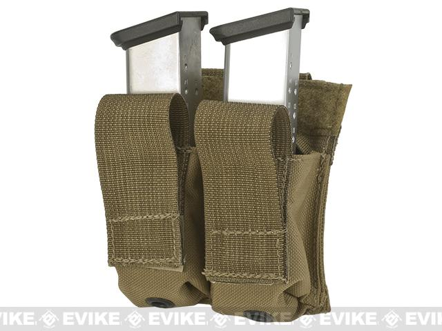 z LBX Tactical Dual Kydex Pistol Magazine Pouch - Coyote