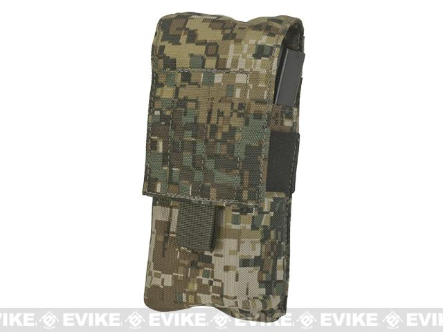 LBX Tactical  Double Stack M4 Magazine  Pouch -  Caiman
