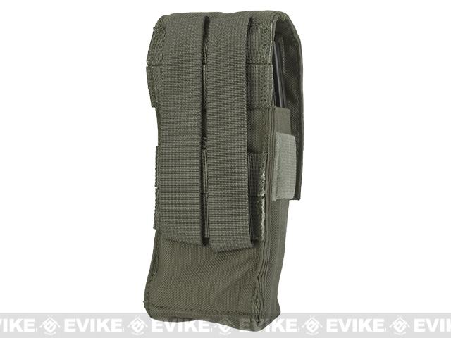 z LBX Tactical  Double Stack M4 Magazine  Pouch -  Ranger Green
