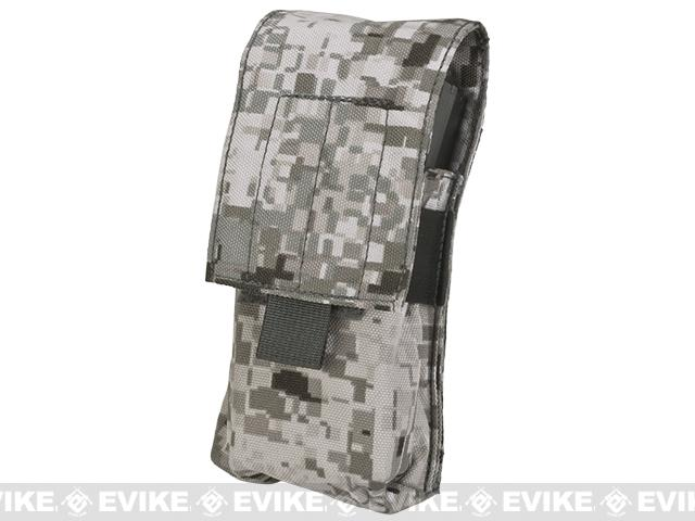 LBX Tactical  Double Stack M4 Magazine  Pouch -  Snow Raptor