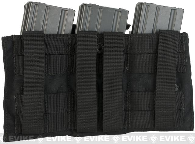 z LBX Tactical Modular Assaulters Panel for MOLLE Plate Carriers - Black