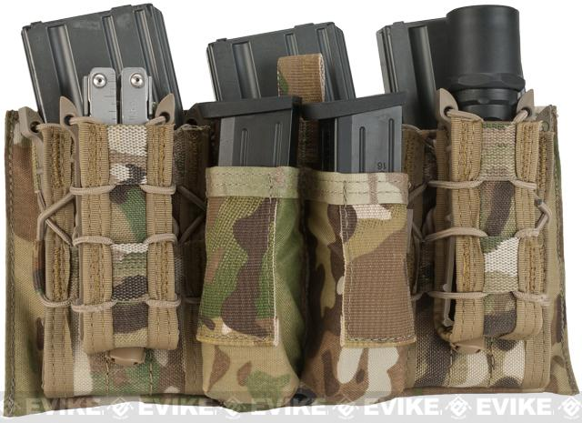 z LBX Tactical Modular Assaulters Panel for MOLLE Plate Carriers - Multicam