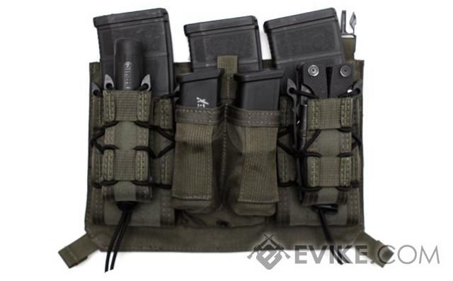 LBX Tactical Assaulters Panel for Armatus Plate Carrier - Mas Grey