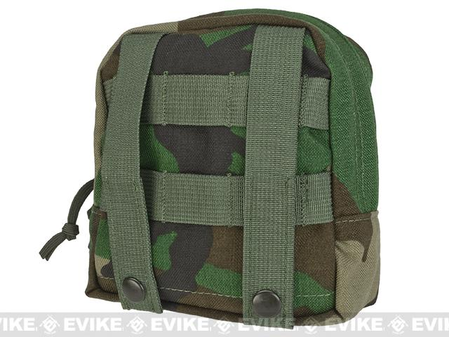 LBX Tactical Medium Utility / General Purpose Pouch - Woodland