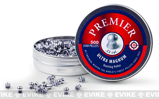 Crosman Premier .22Cal.  14.3gr Domed Pellet 500ct (FOR AIRGUN USE ONLY)