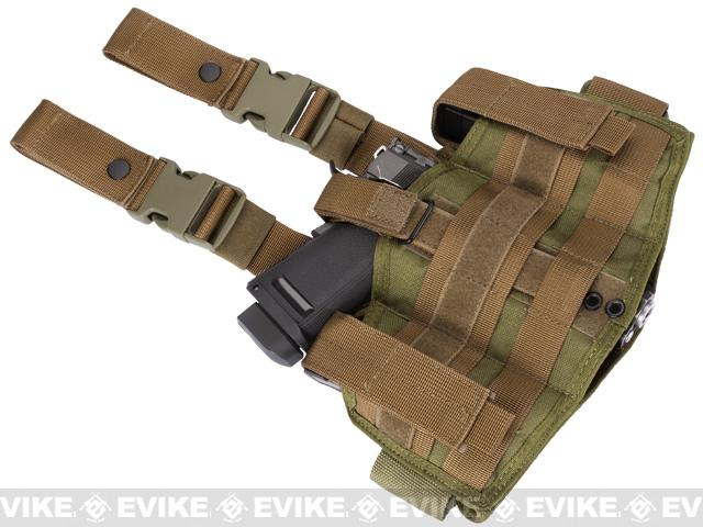 Phantom Gear Navy Seal Drop Leg Thigh Holster Rig - Tan