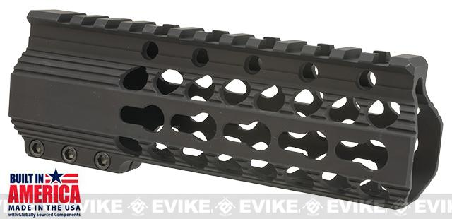 Matrix Arms 6 5.56 Lavi Keymod Free Float Hand Guard for AR15 / M4 / M16 Rifles - Black