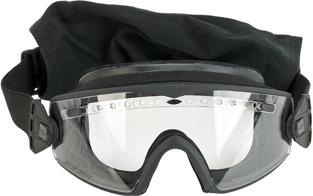 Pre-Order ETA November 2016 Smith Optics Elite Lo-Pro Regulator Goggles with Clear & Gray Lenses - Black