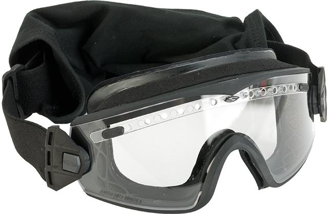 Smith Optics Elite LOPRO Regulator Goggles with Clear & Gray Lenses - Black