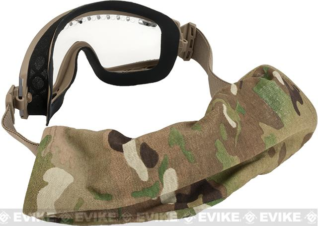 Smith Optics Elite Lo-Pro Regulator Goggles with Clear & Gray Lenses - Tan 499