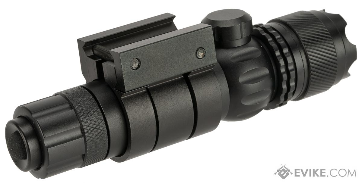 G-Sight Gladiator Weapon Mounted Laser Sight (Color: Green Laser)