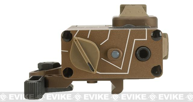 G&P Compact Dual Laser (Visible Red / Infrared) Designator - Sand