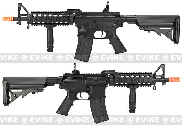 Lancer Tactical M4 RIS Airsoft AEG Rifle - Black