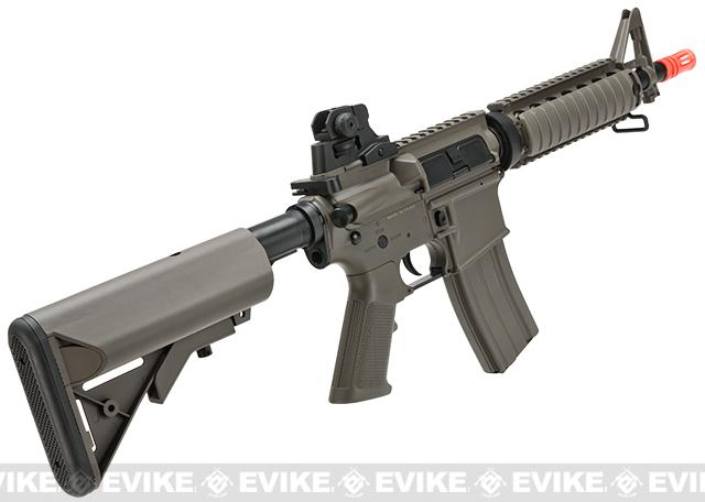 Lancer Tactical M4 CQBR Airsoft AEG Rifle - Dark Earth