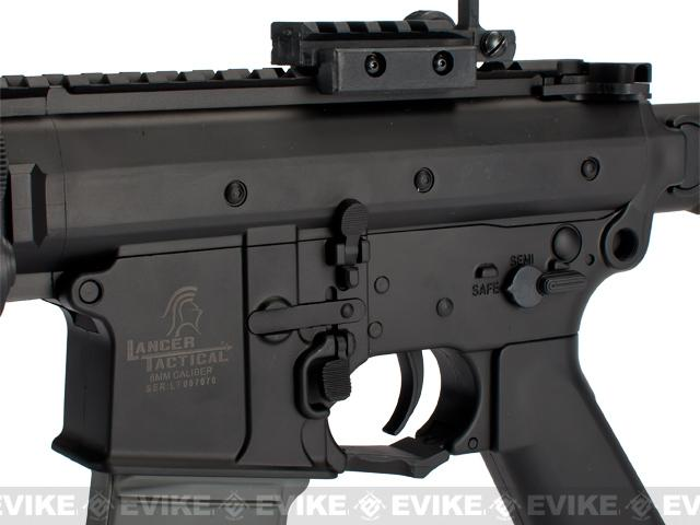 Lancer Tactical KAC Knight's Armament Licensed PDW Airsoft AEG Rifle (Two Magazine)