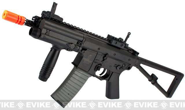 Lancer Tactical KAC Knight's Armament Licensed PDW Airsoft AEG Rifle