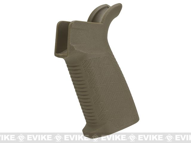 Madbull Fully Licensed Strike Industries Polymer EPG Motor Grip for M4 Airsoft AEGs - Tan