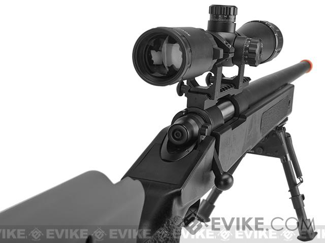PDI Custom S&T USMC M40A3 Bolt Action Airsoft Sniper Rifle w/ PDI Internals (Model: Black)