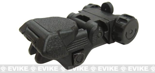 ICS CXP Flip-up Rear Rifle Sight - Black