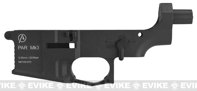 ICS Pro-Arms Armory MK3 Full Metal Aluminum Lower Receiver for Airsoft AEG Rifles - Black