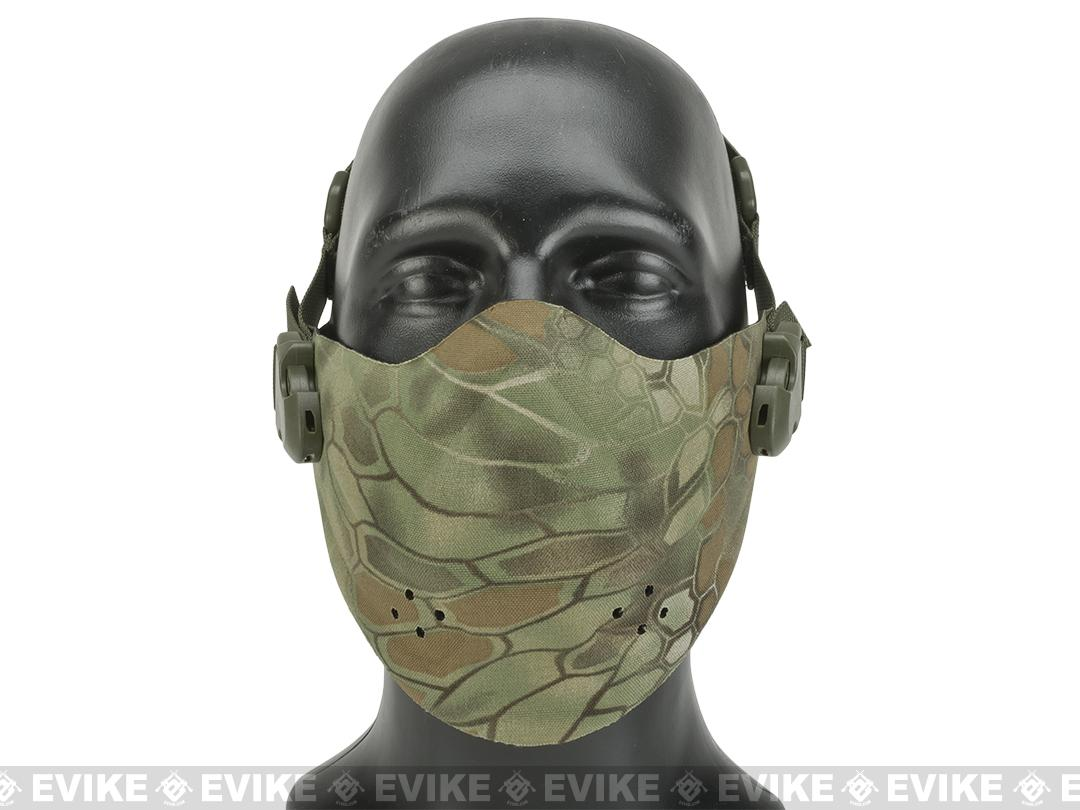 Matrix High Speed Lightweight Half Face Mask - Forest Serpent