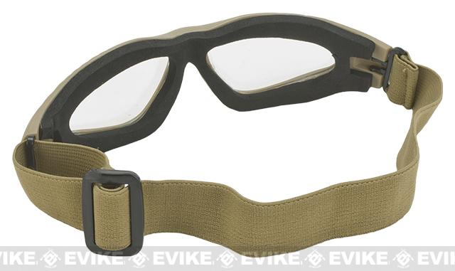 Matrix Zero Tactical Goggles - Tan