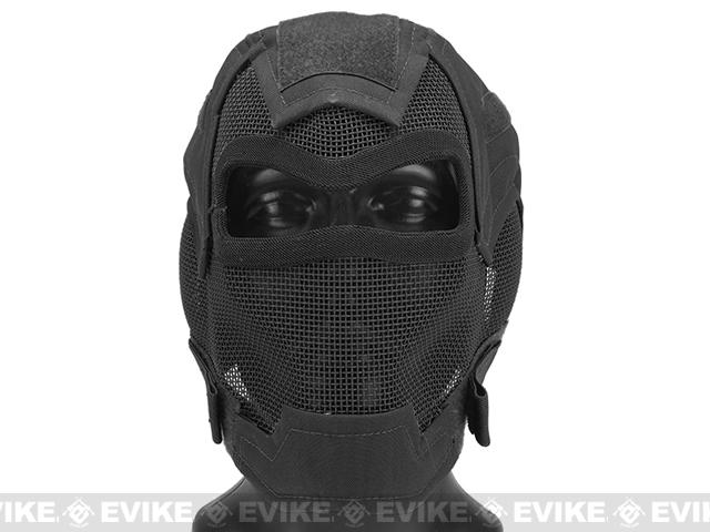 Matrix Iron Face Carbon Steel Watcher Gen7 Full Face Mask - Black
