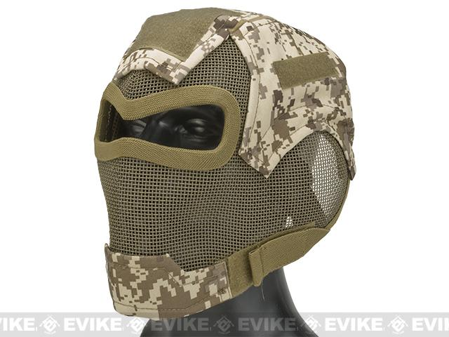 Matrix Iron Face Carbon Steel Watcher Gen7 Full Face Mask - Digital Desert