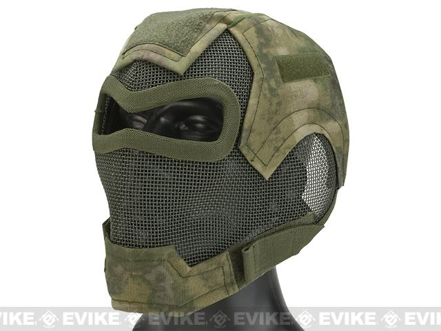 Matrix Iron Face Carbon Steel Watcher Gen7 Full Face Mask - Arid Foliage
